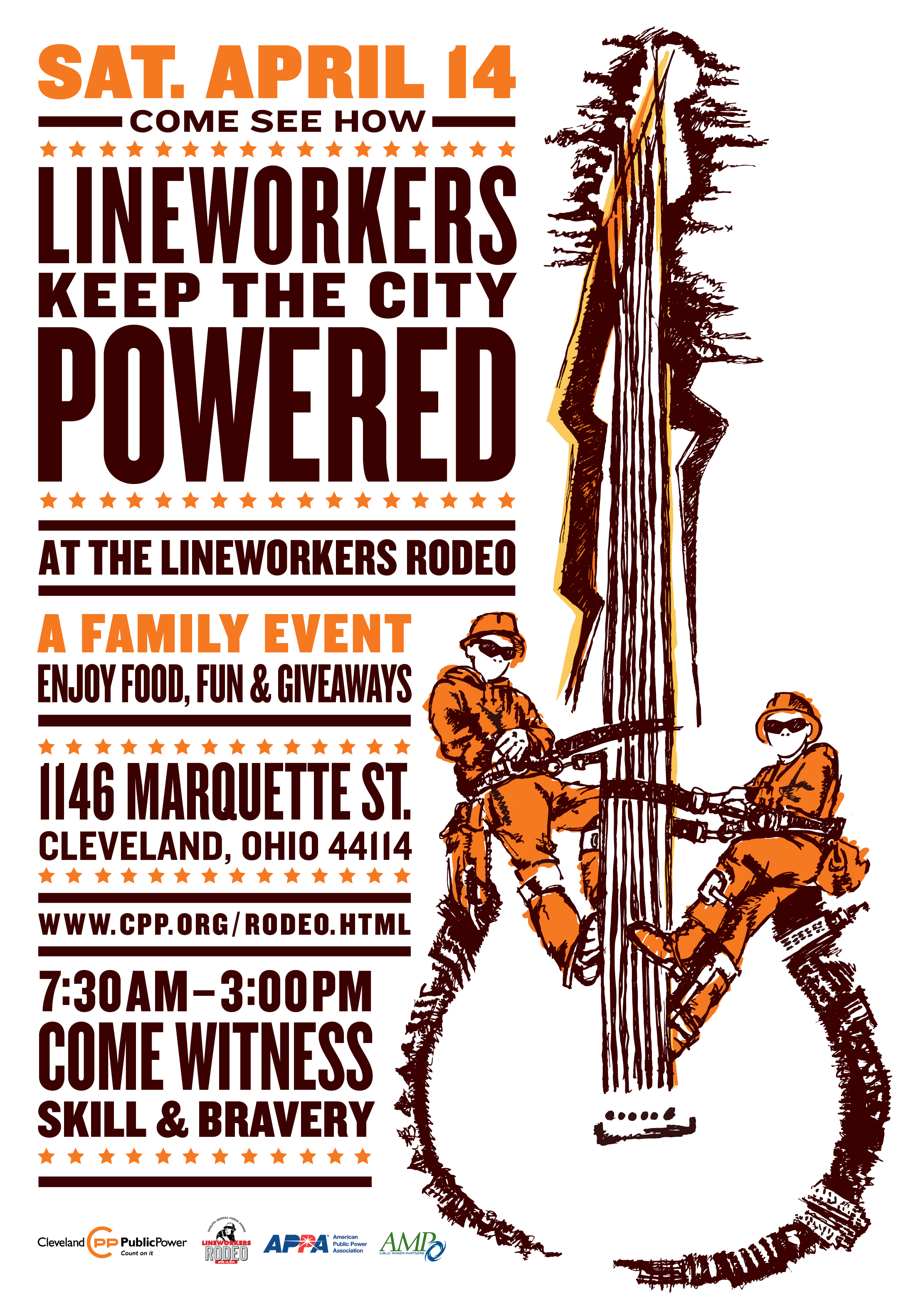 The Appa Lineworkers Rodeo Rocks Into Cleveland Oh In 3