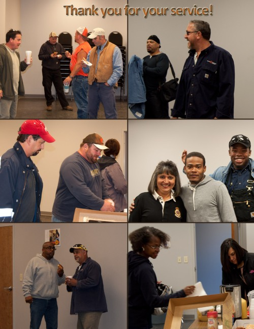Scenes from Cleveland Public Power's Westside Service Center Employee Appreciation for Public Power Week.