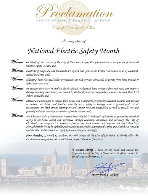 Proclamation---2015-Electric-Safety-Month-electronic