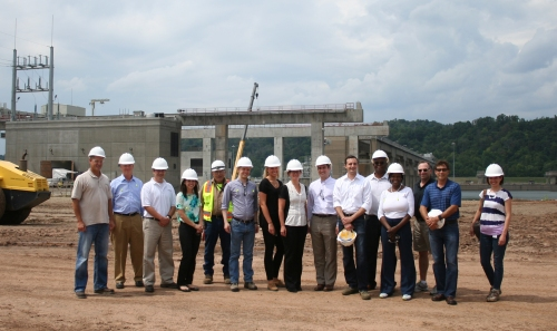 Ohio State Senator Sandra Williams of Cleveland joined several legislative leaders and key staff on a tour of AMP hydroelectric facilities.