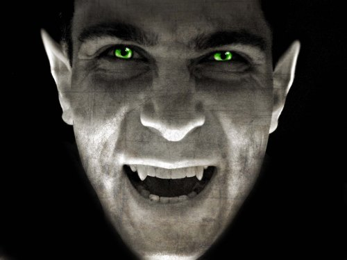 Just as the vampire sucks your blood, machines are sucking the energy out of your house when appliances are turned off. (Photo courtesy of zdnet.com)
