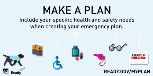 Graphic: Make a Plan. My Plan.