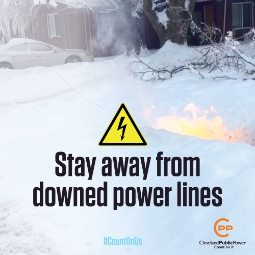 Downed Power Lines Warning